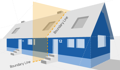 Party Wall illustration for Margate Surveyors
